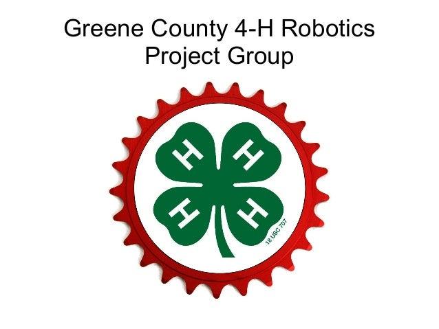Greene County 4-H Robotics Project Group