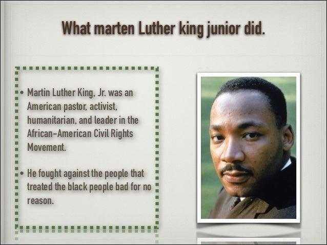 Martin Luther King - Adam D Slide 3