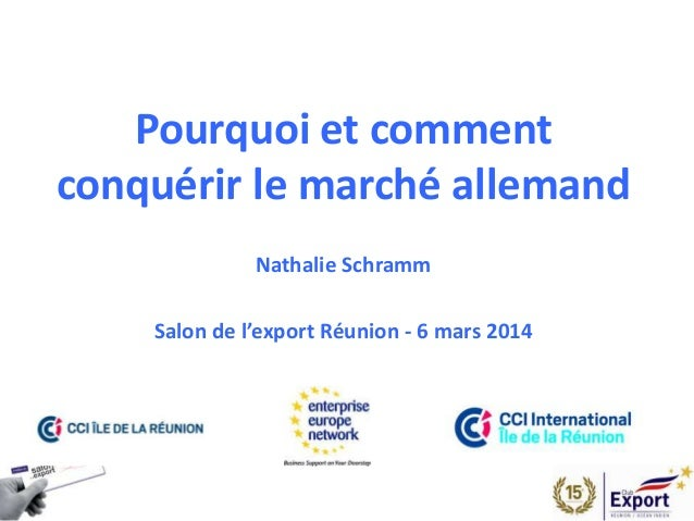 Salon de l 39 export 2014 presentation allemagne - Salon international de l agroalimentaire ...