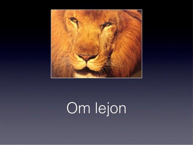 Om lejon