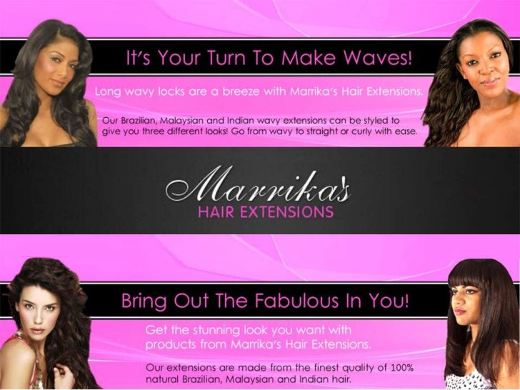 Marrikas Hair Extensions!Your best source of affordable 100% human hair extensions on the internet!We provide thefinest qu...