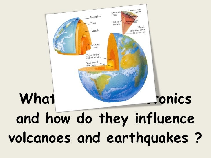What are plate tectonics and how do they influence volcanoes and earthquakes ?