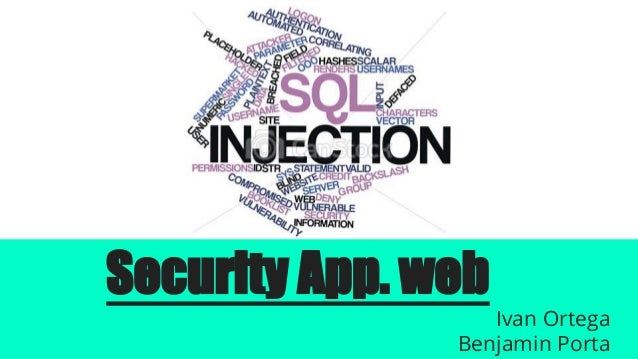 Web Security - OWASP - SQL injection & Cross Site Scripting XSS