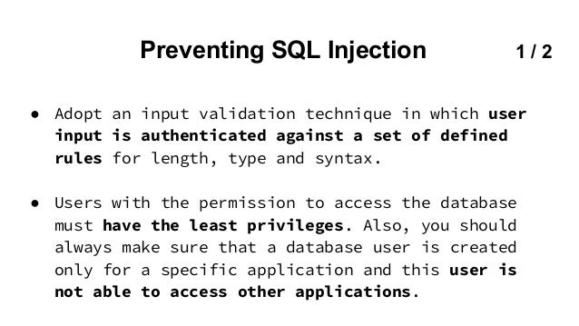 Web security owasp sql injection cross site - Sql injection drop table example ...