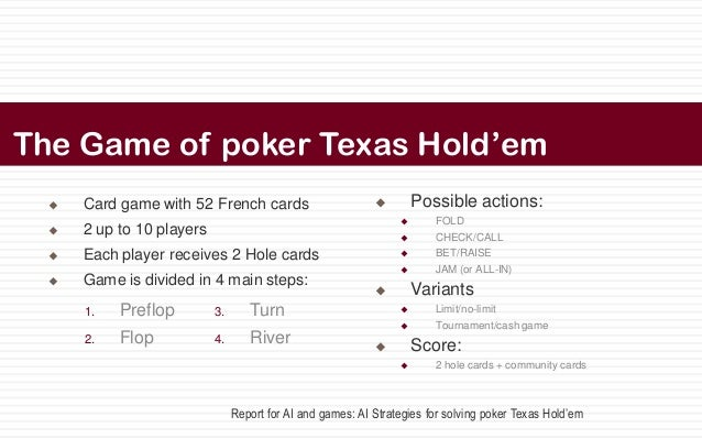 hold em poker rules