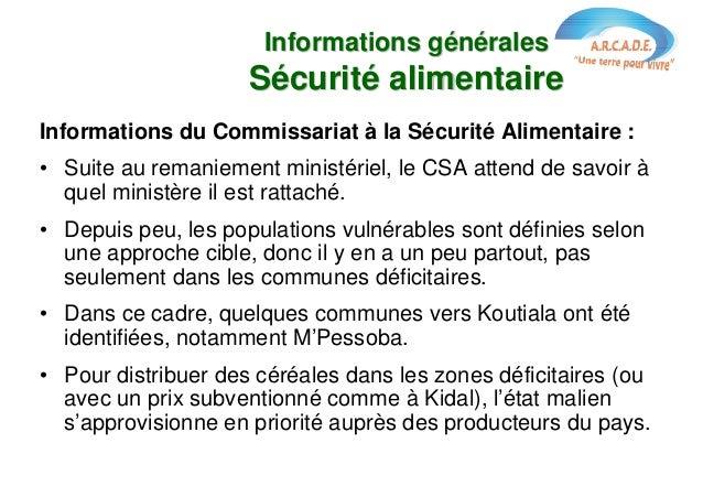 Sécurité alimentaire : état des lieux et propositions à Alençon Slide 3