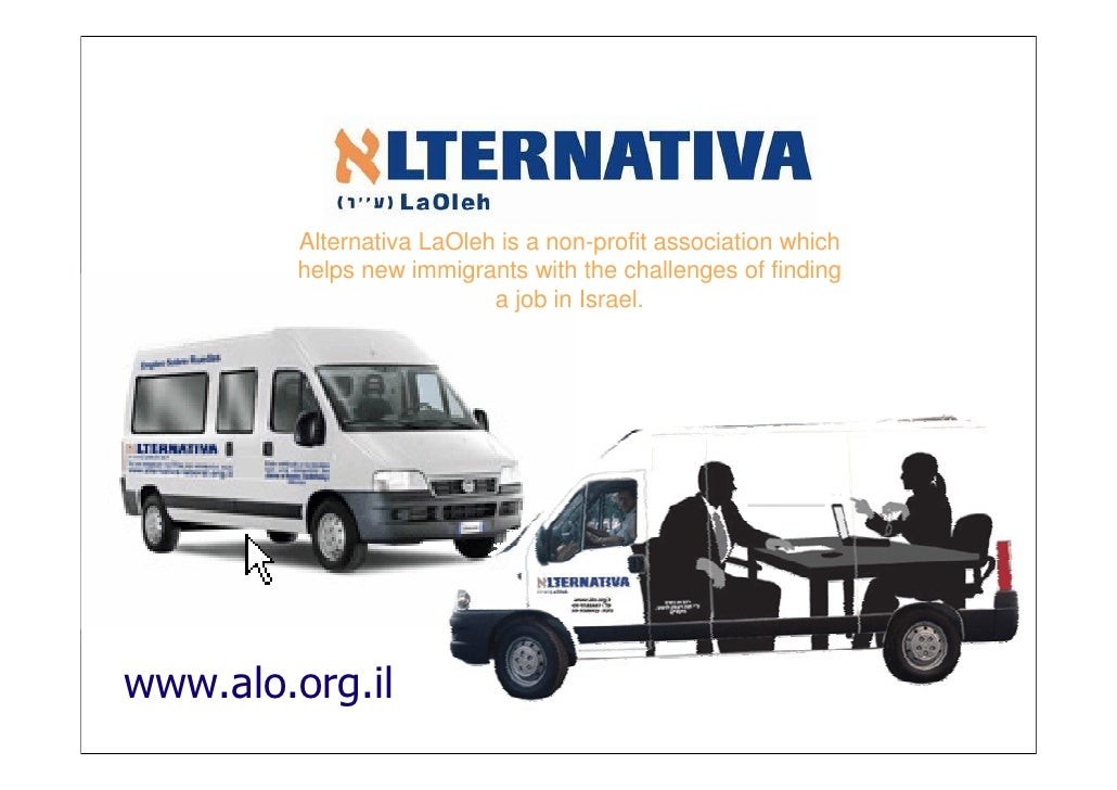 Alternativa LaOleh is a non-profit association which        helps new immigrants with the challenges of finding           ...