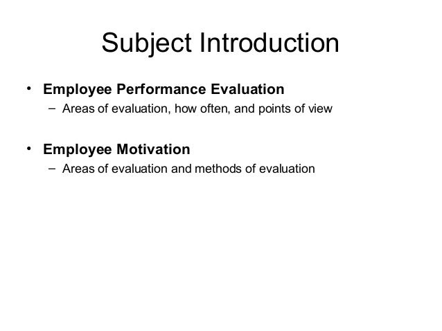 A Brief Introduction to Motivation Theory