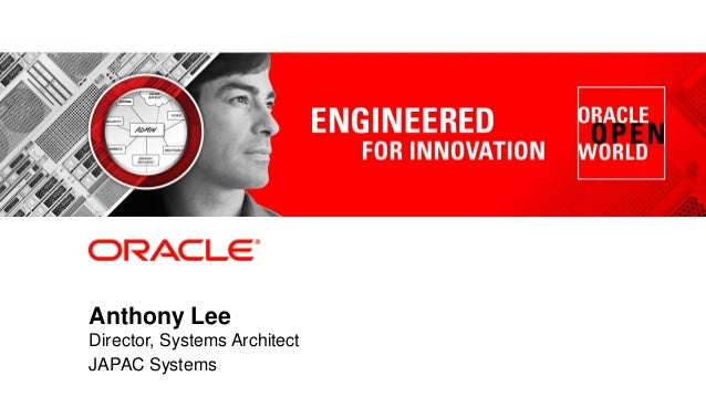Anthony Lee Director, Systems Architect JAPAC Systems