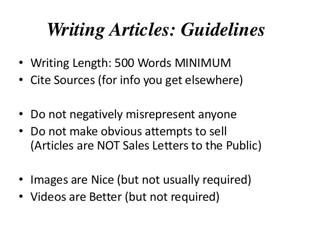 article writing and submission service