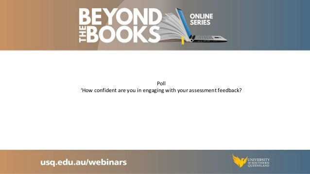 How to turn your assessment setbacks into a learning success Feedback from marker Exam experience Reflect on what happened...