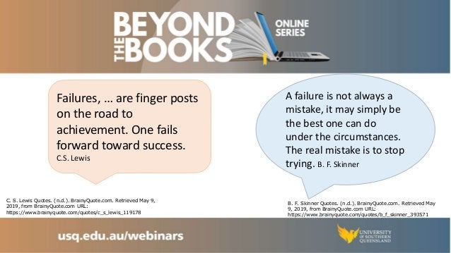 Assessment: How to turn your assessment setbacks into a learning success