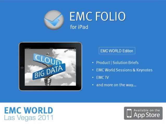 41© Copyright 2011 EMC Corporation. All rights reserved.
