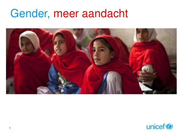 Gender, meer aandacht  Click to edit Master subtitle style  8