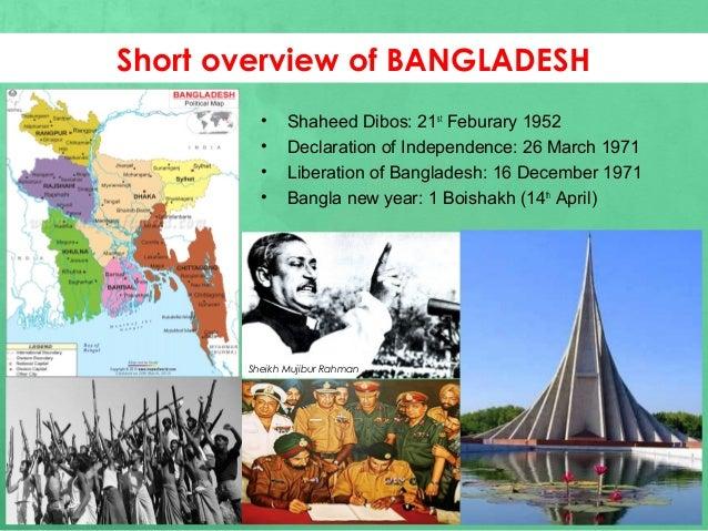 Presentation on Bangladesh