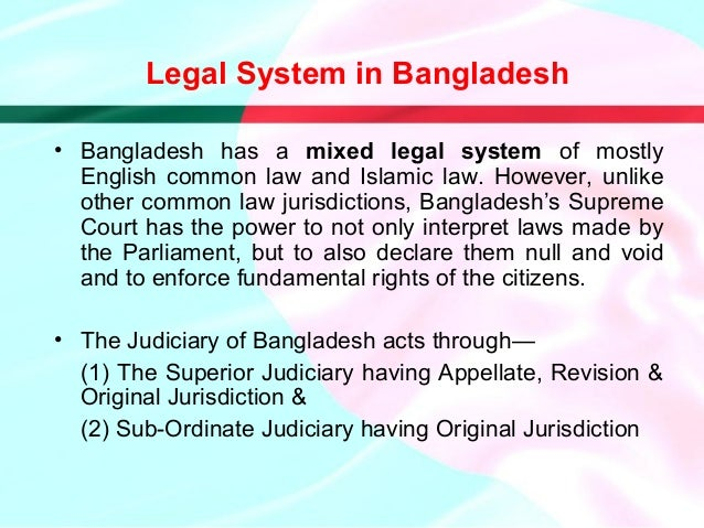 Presentation on Bangladesh (Political, Legal and Economic