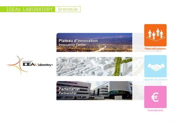 IDEAs LABORATORY   Grenoble                               Plateau multi-partenaires                              Engagemen...