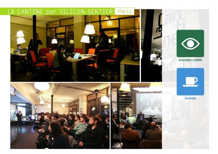 LA CANTINE par SILICON SENTIER Paris                                       Accessibilité / visibilité                     ...