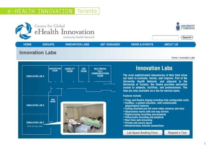 e-HEALTH INNOVATION Toronto                              8