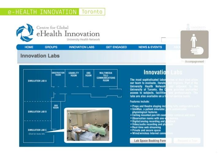 e-HEALTH INNOVATION Toronto                              Accompagnement                                               9
