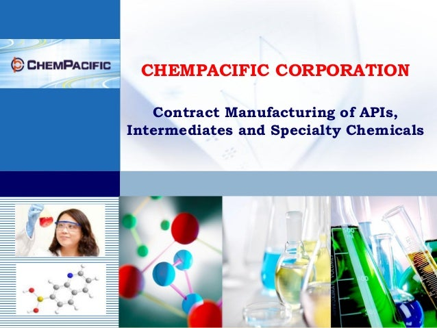 CHEMPACIFIC CORPORATION   Contract Manufacturing of APIs,Intermediates and Specialty Chemicals