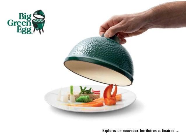 Explorez de nouveaux territoires culinaires …