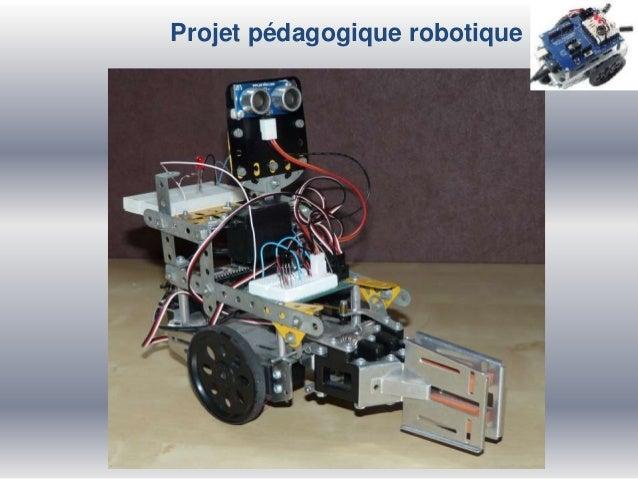 Projet pédagogique robotique