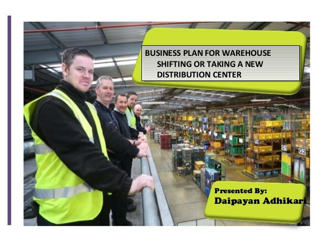 Distribution warehouse business plan