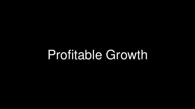 18  Profitable Growth
