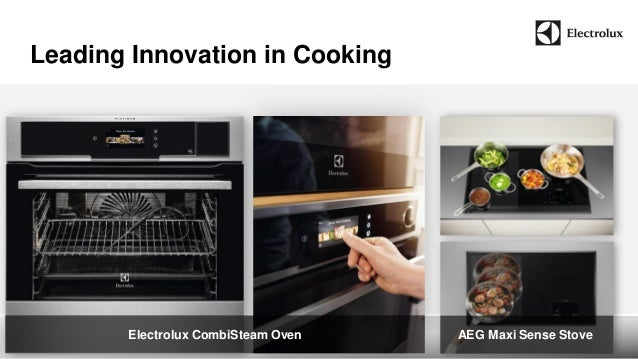 Electrolux CombiSteam Oven AEG Maxi Sense Stove  Leading Innovation in Cooking
