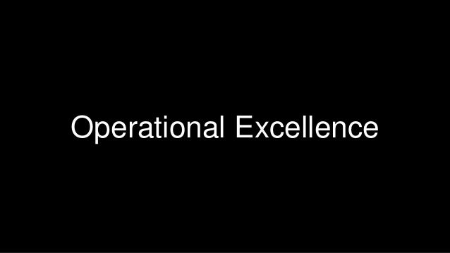 37  Operational Excellence