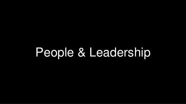 41  People & Leadership