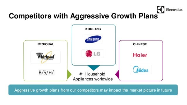Competitors with Aggressive Growth Plans  Aggressive growth plans from our competitors may impact the market picture in fu...
