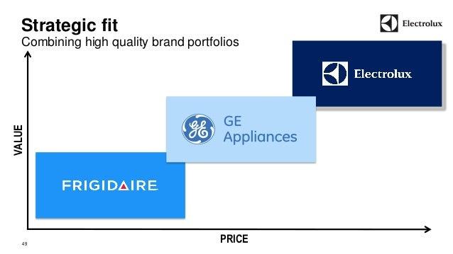 Strategic fit  Combining high quality brand portfolios  49  Price  Value  VALUE  PRICE