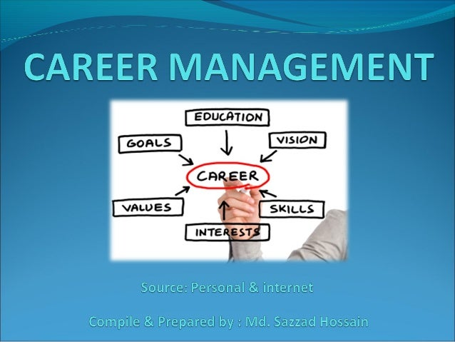 Career Management Features Lifelong process (facilitate transition from childhood) Decide when, how, who will take the d...