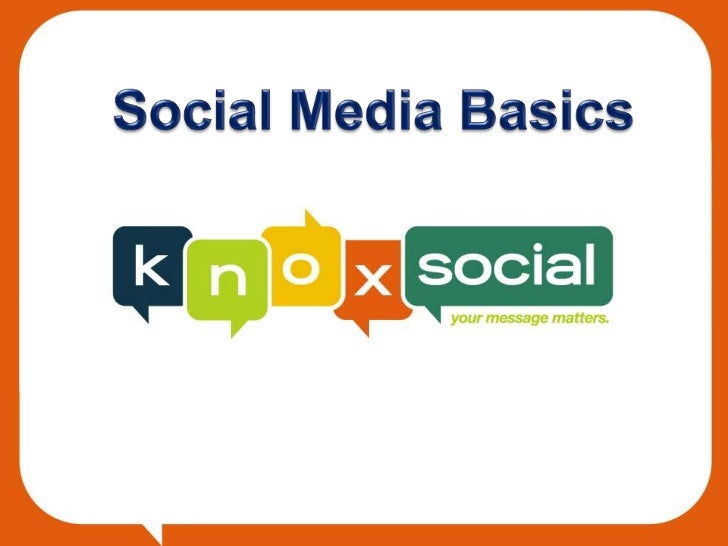 Agenda•   Social Media Stats•   What is Social Media?•   What Can It do?•   Why Social Media?•   Getting Started•   Social...