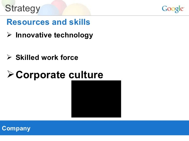 corporate culture at googlecom a case study
