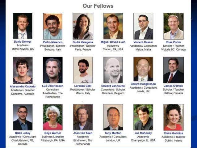 CEBMa: what we do  Promote (seminars, papers, blogs, tweets)  Educate (universities & business schools)  Train & coach ...