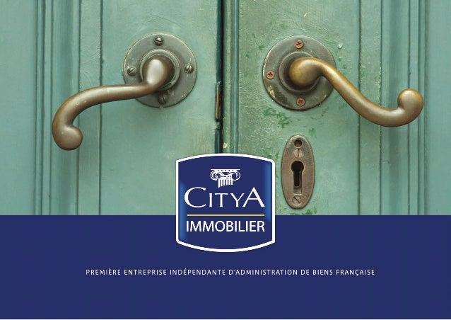 Présentation Citya Immobilier