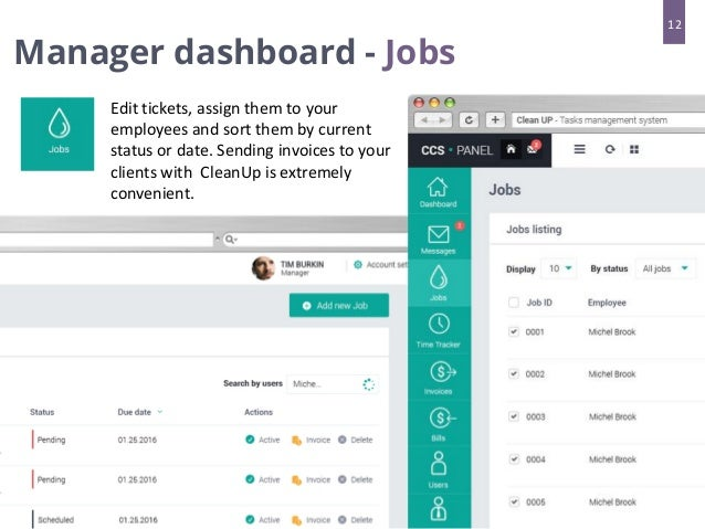 Task Management System For Cleaning Companies