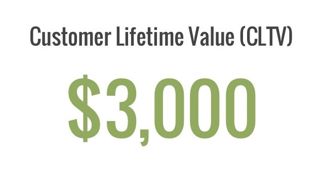 Average Lifetime Value Of A Customer To A Property Management