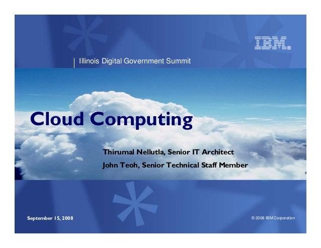 Presentation Cloud Computing