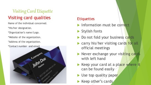 Ppt presentation corporate etiquette by nakentoh contact number and email 19 reheart Images