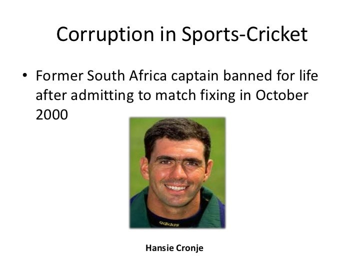 corruption in sports essay