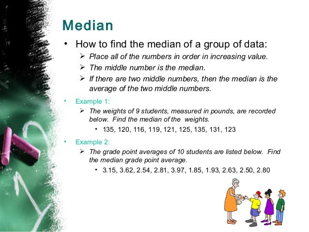 Pre algebra mean median median how to find ccuart Image collections