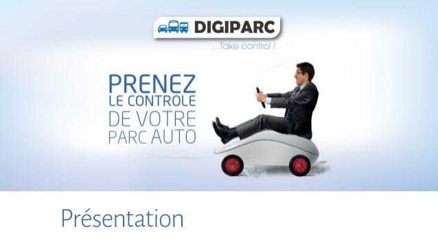 Presentation digiparc v 2015, Progiciel de gestion de parc auto