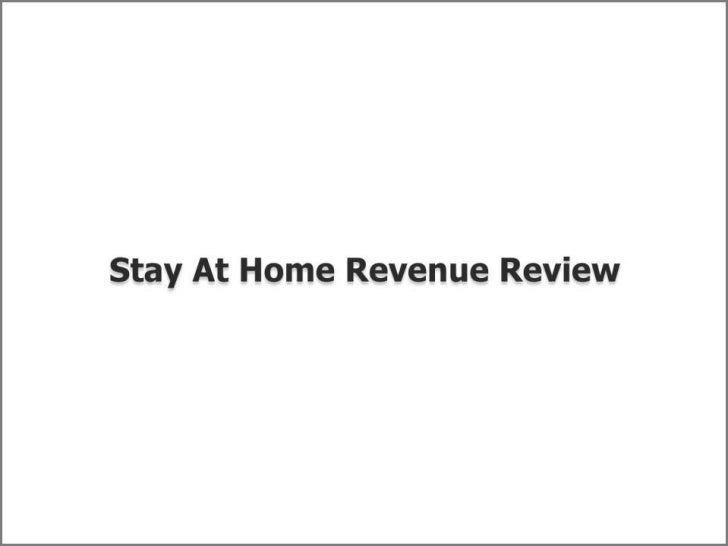 Discover Very Important Information Data about Stay At HomeRevenueIf, you are as well internet addicted just like myself a...