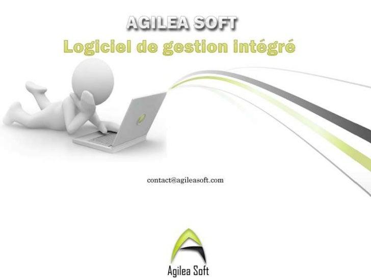 Sommaire       AgileaSoft en bref       Nos produits et services       Notre methodologies de travail                Co...
