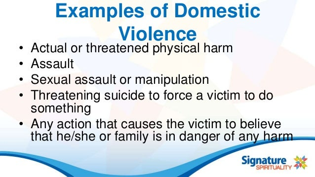 emotional abuse & domestic violence