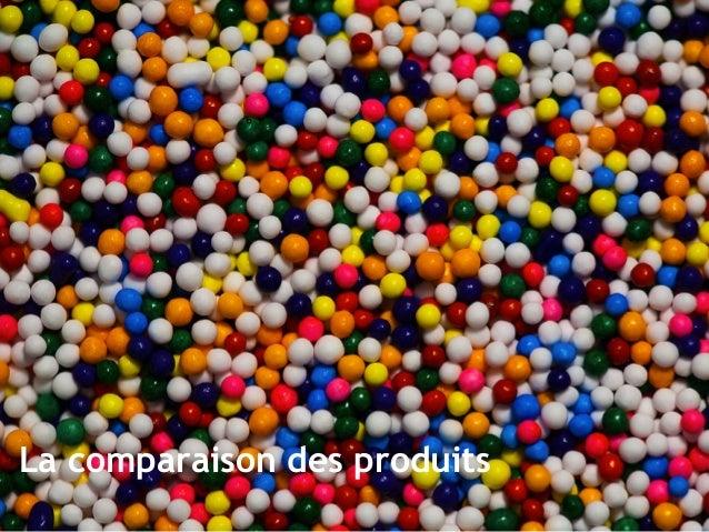 La comparaison des produits